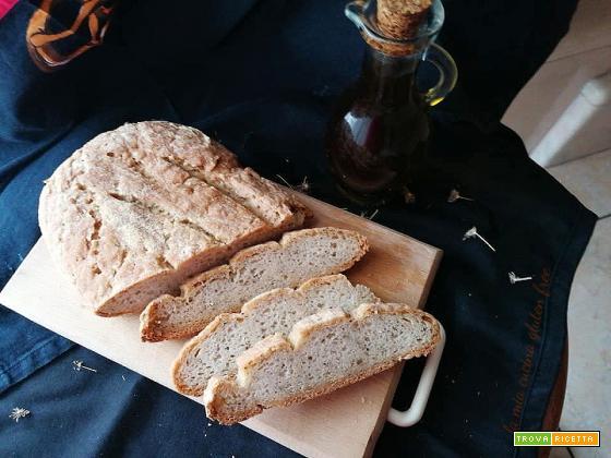 Pane casereccio con farina di mais