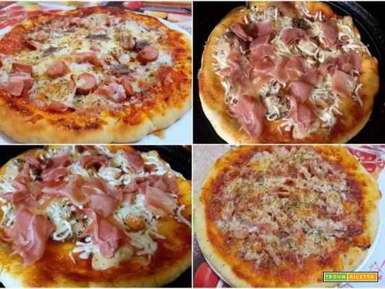 Pizza salumi e formaggi