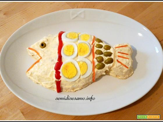 Pesce finto con tonno e patate, ricetta facilissima.