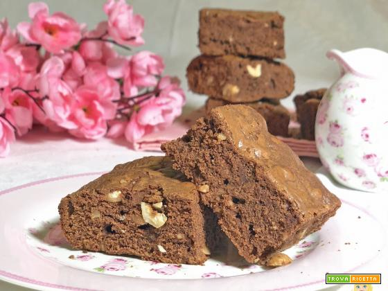 BROWNIES alla NUTELLA solo 3 INGREDIENTI