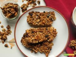 Granola Bars: barrette di granola fatte in casa