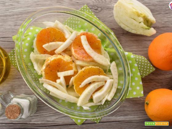 Insalata di arance e finocchio