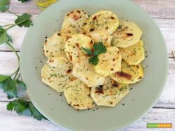 Fettine di patate grigliate