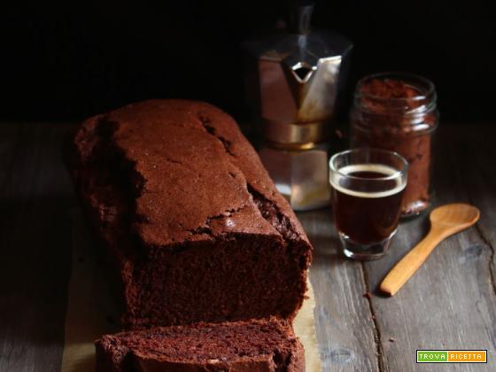 Plumcake di albumi al cacao e caffè