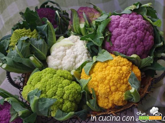 Cavolfiore, proprietà varietà e ricette