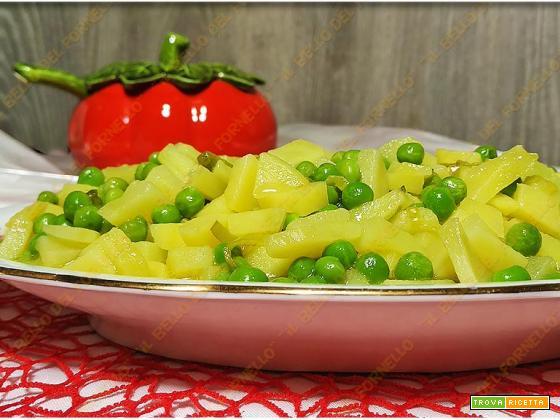 Patate e piselli – ricetta semplice e gustosa