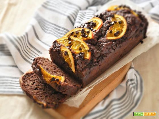 Banana Bread con Yogurt e Arance