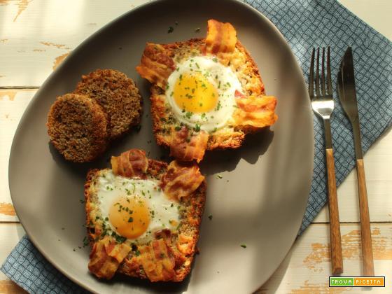 Egg toast: la ricetta degli egg in a hole