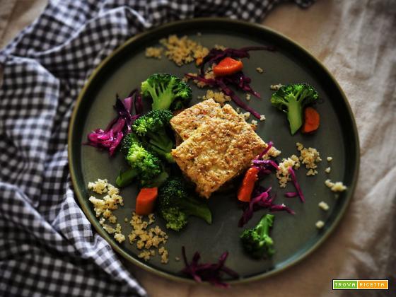 Quadrotti di Miglio e Broccoli al Curry