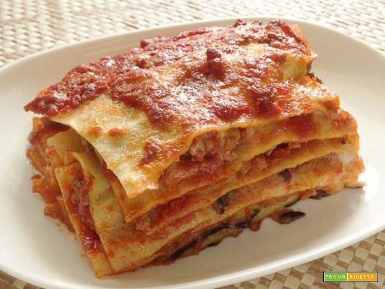 Lasagna con le melanzane