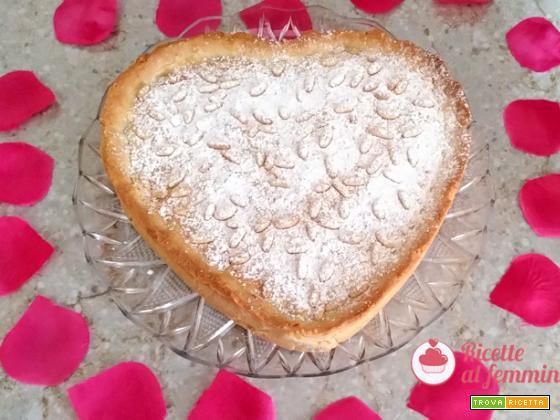 Torta della nonna con crema bimby
