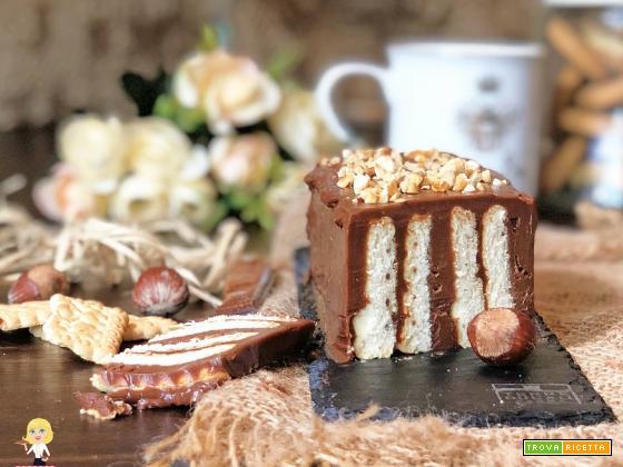 MATTONELLA dolce alla NUTELLA senza cottura