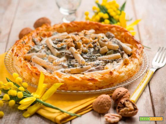 Quadrotti in crosta con tartufo per la Festa della Donna