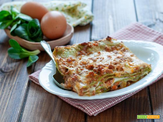 Lasagne verdi al ragù di carne