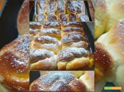 Intrecci pan brioche alla nutella