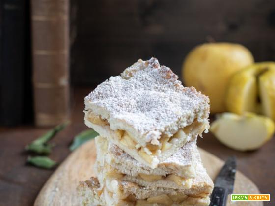 Quadrotti alle mele: ricetta senza burro