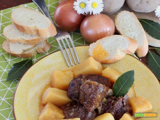 Spezzatino con le Patate in Instant Pot