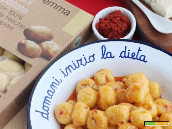 Gnocchi gorgonzola e 'nduja