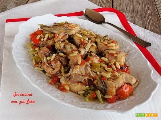 Coniglio alla sivigliana ricetta facile