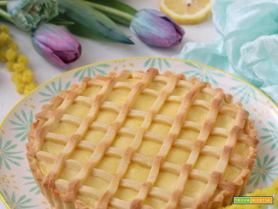 Crostata con crema al limone di Marechiaro