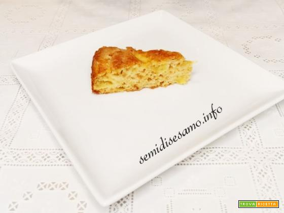 Torta di mele all'olio EVO (extra vergine di oliva)