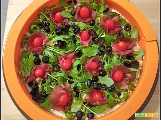 Cheese cake salata, ricetta fresca e delicata