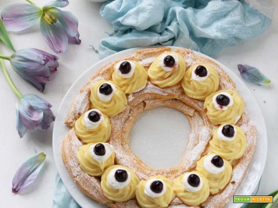 Torta Zeppola di San Giuseppe