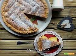 Crostata con savoiardi e crema - ricetta passo passo
