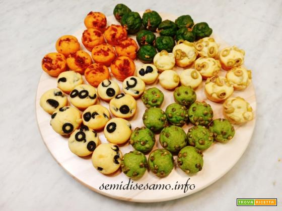 Mini muffin salati mille gusti, ricetta per buffet o aperitivo