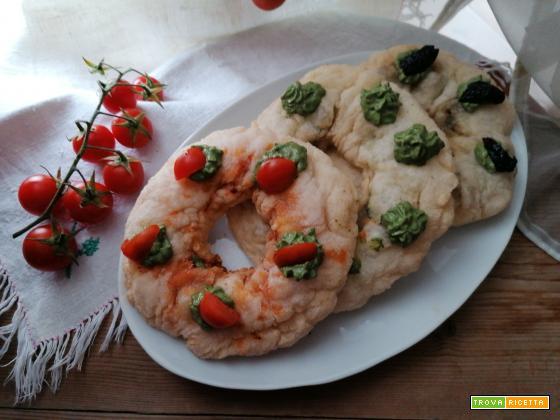 Panzerotti zeppola salati senza glutine