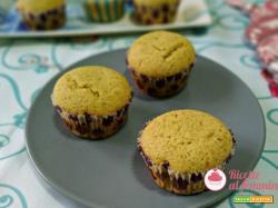 Muffin pistacchio e cocco