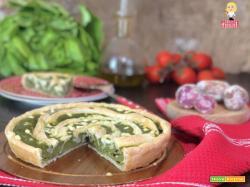 TORTA salata FAVE SALAME e PECORINO