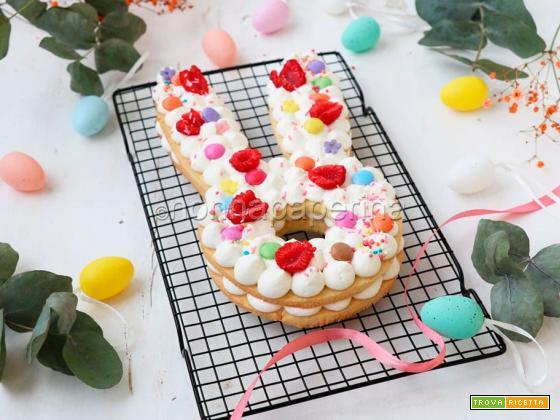 Cream tart di Pasqua, una versione agrumata