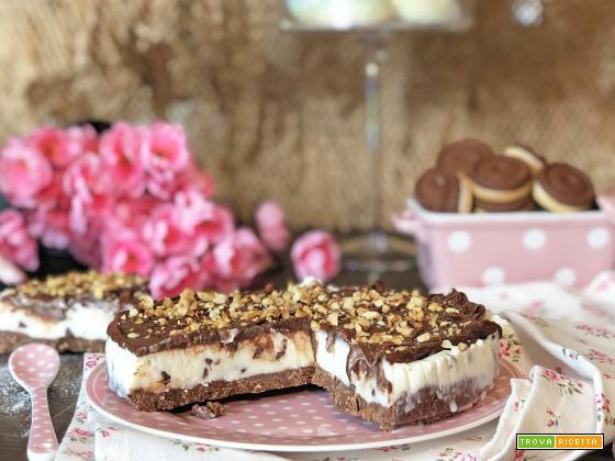 Cheesecake COCCO e NUTELLA senza PHILADELPHIA