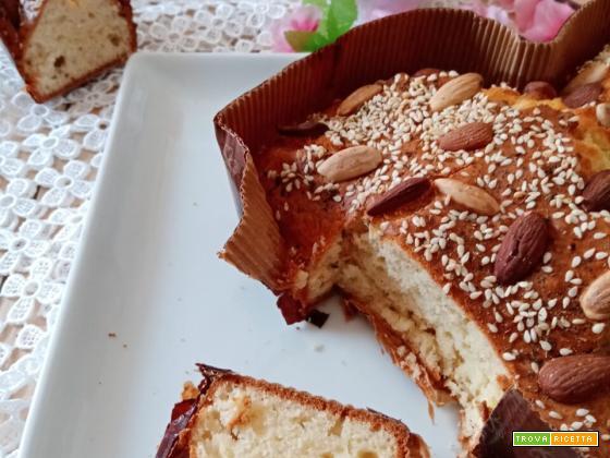 Torta colomba …salata