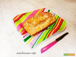 Plumcake al limone alto e soffice