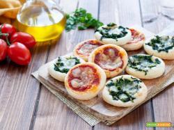 Pizzette di pasta sfoglia facilissime e veloci