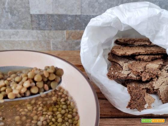 Focaccia scrocchiarella senza glutine di grano saraceno
