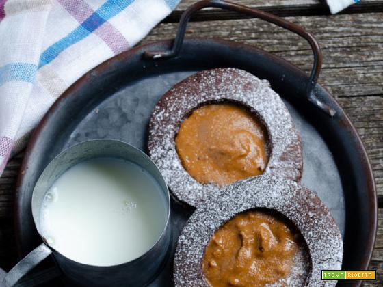 Biscotti al cacao senza uova e senza burro