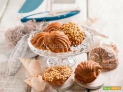 Madeleines di quinoa e noci, dei dolcetti deliziosi