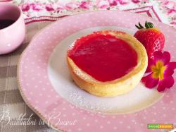 Crostatine di ricotta e fragole