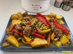 CuCo usato come tajine, cottura di manzo con verdure