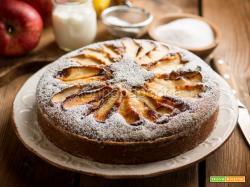 Torta di mele senza glutine, lattosio e nichel