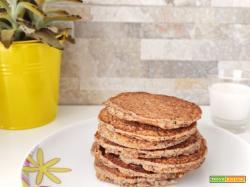 Pancakes vegan al grano saraceno senza zucchero e senza glutine
