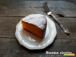 Torta di carote, ricetta facile e veloce