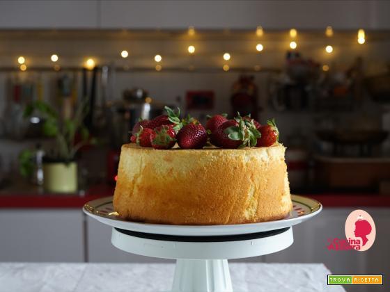 Chiffon Cake Fragole e Panna