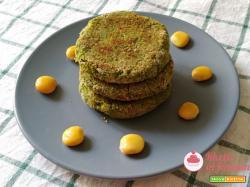Hamburger di lupini e spinaci