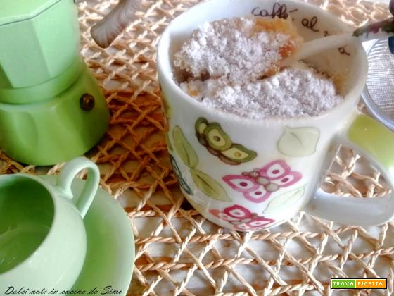 Mug Cake allo yogurt (Torta in tazza)