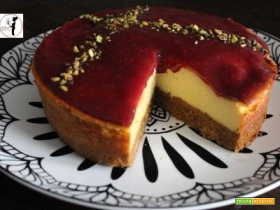 Cheesecake al miele in friggitrice ad aria per la festa della mamma