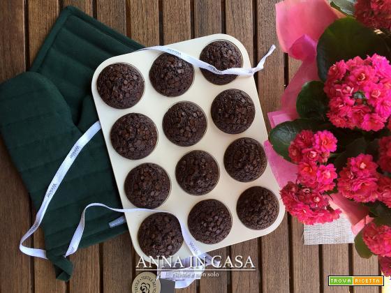 Muffin banane e cioccolato